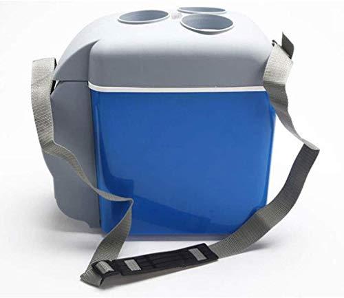 Dljyy koelbox voor auto, koelbox, elektrisch, draagbaar, voor caravans, camping, 7,5 l, 12 V