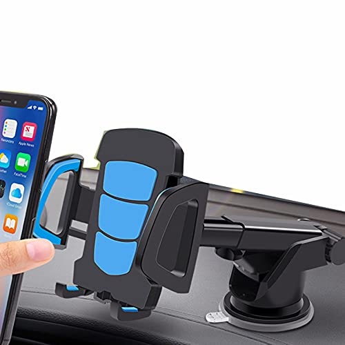 GXTIAN Tenedor de Teléfono Móvil Soporte de Coche Soporte de Navegación Coche Centro Creativo Consola Ventosa Soporte Fijo Estante