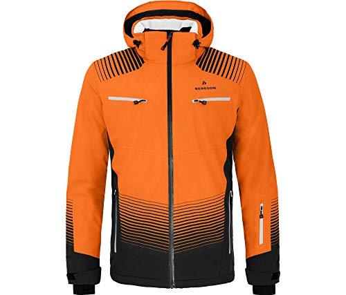 Bergson Herren Skijacke TAAVI, Persimmon orange [513], 54 - Herren