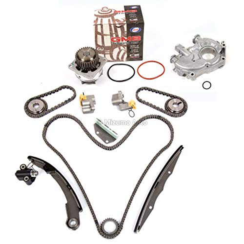 Mizumo Auto MA-9761234729 Timing Chain Kit Water Oil Pump Compatible With/For Nissan Frontier Pathfinder Xterra VQ40DE