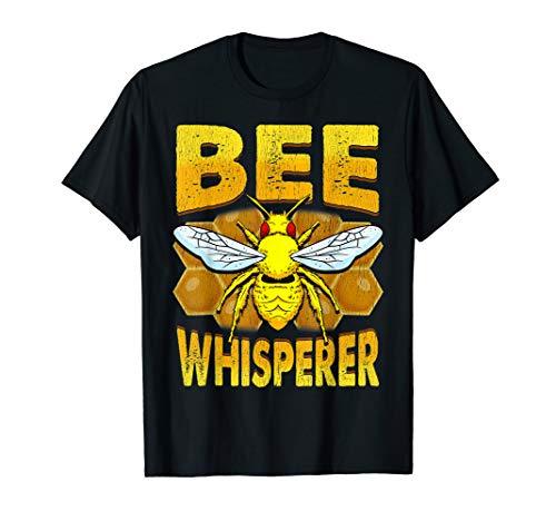 Bee Whisperer Beekeeper Loves Honey Pollen Safe The Bees T-Shirt