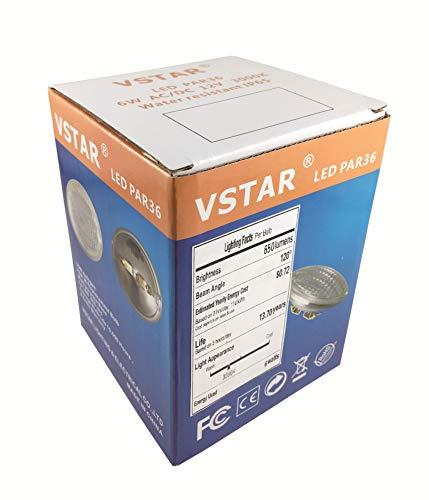 Vstar LED PAR36 6W 12V Warm White Lamp (Eq to 35W Halogen)