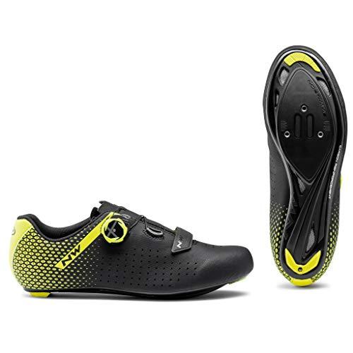 Northwave Unisex Cycling Shoes Sport, Black Amarillo, 12 US Women -  80211012-04
