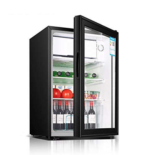 Lxn Mini frigorífico - 71L Debajo del mostrador frigorífico con Cubierta Chiller Compartimiento - Pequeño Food Drink Máquina de Almacenamiento, con estantes Regulables y Desmontables