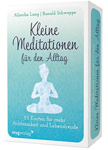 Kleine Meditationen für den Alltag: 55 Übungskarten für mehr Achtsamkeit und Lebensfreude