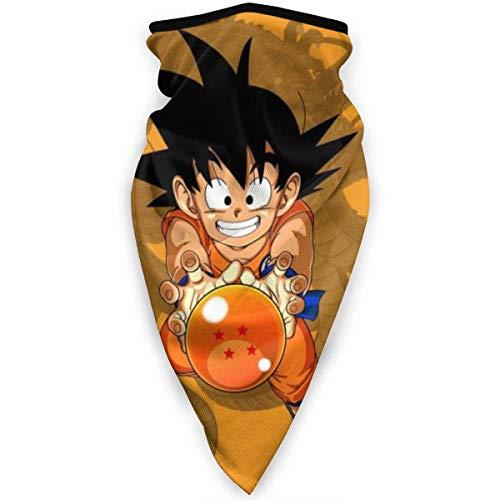 NA Kid Goku Dragon Ball Bandanas Multifonctionnels Visage Bandeau Écharpe Headwrap Neckfor Dust, Sports, Équitation, Extérieur Noir -