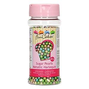 FunCakes Perlas de Azúcar -Harlequin Metalizado