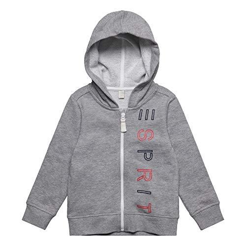 ESPRIT KIDS ESPRIT KIDS Mädchen C Pe Sweatshirt, Grau (Mid Heather Grey 260), (Herstellergröße: 92+)