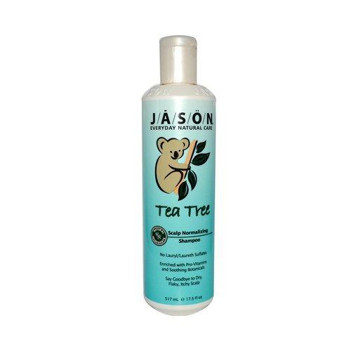 Jason Soins du Corps : Thérapie de shampooing, huile d'arbre à thé, 496,1 gram (lot de 2)