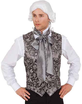 Orlob Herren Kostüm Barock Brokat Weste zu Karneval Fasching Gr.54/56
