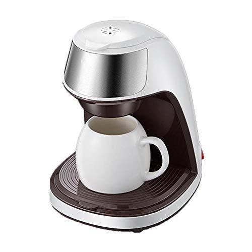LKOER Coffee Machine Home Pequeña Oficina portátil apresurando Las Gotas de la máquina de té, con la Taza de café jinyang