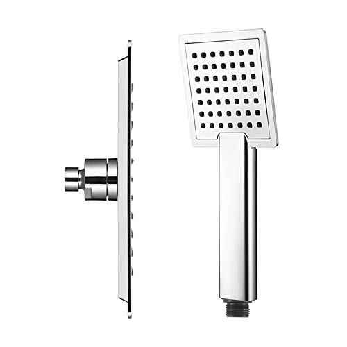 Shower Head Diverter,Shower Head Rainfall Led Shower Head 30Cm30Cm Square Stainless Steel Ultra-Thin Rainfall Shower Head Rain Shower Head,Bring You The Best Shower Experience,For Spa,Massage Spa