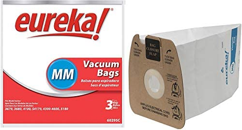 Eureka MM Vacuum 60297A Style-10 Per Unit, 10 Bags, White