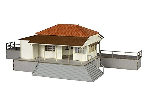 PLUM 1/80 駅舎 Type 小湊鐵道 1/80スケール 未塗装組立 ペーパークラフト/プラスチックキット PP107