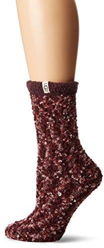 UGG Women's Cozy Chenille Sock, dusk, O/S