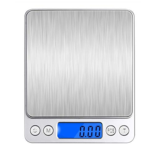 デジタルスケール キッチンスケール 0.01-500g精密 電子スケール クッキングスケール 精密電子はかり 電子...