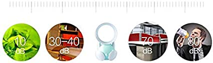 JYPHM Table Fan Quiet Table Fans for Bedroom Small Table Fans Electric Quiet Stroller Fan Desk Fan Mini Table Portable Personal Fan for Baby Carriage Bed Car Office Outdoor Traveling Room Gray