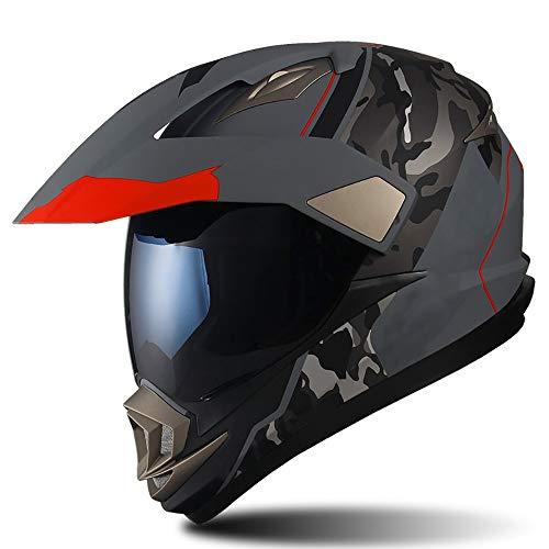SXC Motocross Helmet Casco Motocross ECE Homologado Casco de Moto Cross para...