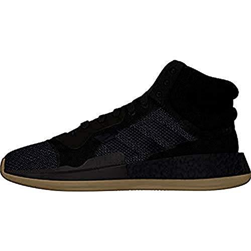 adidas Marquee Boost Zapatos de Baloncesto para Hombre Negro, 40 EU