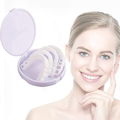 Nieuwe Set Bovenste Onderste Magische Tandenbrace Tijdelijke Glimlach Comfort Fit Cosmetische Den, Professionele Beugel…