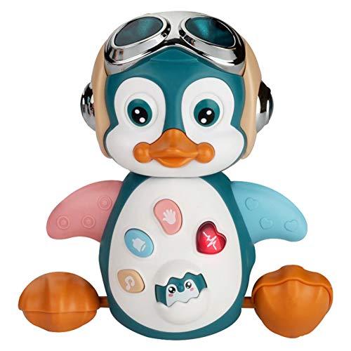 GRASARY Simulation Pinguin Figur Elektrischer Tanz Musikspielzeug Kind Geschenk Home Decor Supply, Perfektes...