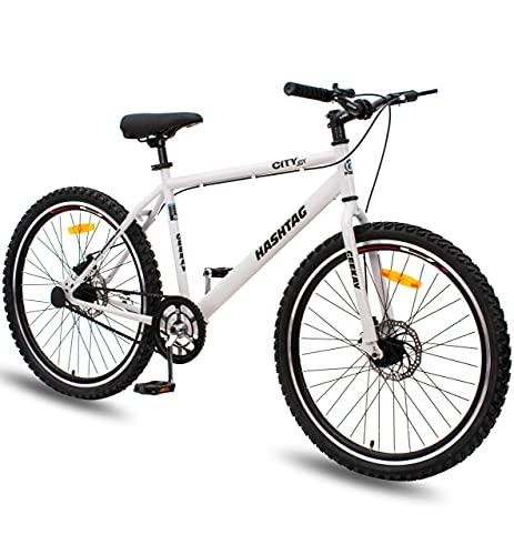 Geekay Hashtag 26 t Single Speed Steel Mountain Bicycle 26 Inch wheel...