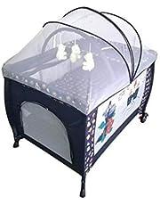 بيبي لوف سرير اطفال مع ناموسية , متعدد الالوان - 27-930C