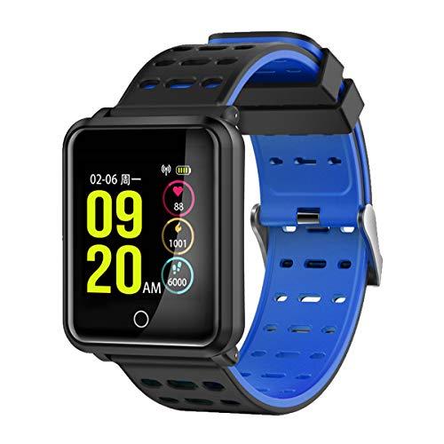 TagoBee SmartWatch TB06 IP68 Fitness Tracker für Schwimmen Bluetooth Wasserdicht Activity Tracker Pedometer Schrittzähler Hat Kompatibel mit Andriod und ios(weiß)