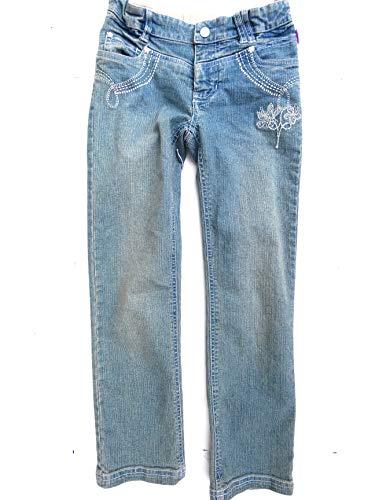 Pampolina Mädchen Jeans 24411(128, blau)