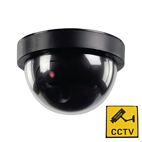 Phot-R® Dummy IR LED Dome Security Surveillance Camera Cam with CCTV Warning