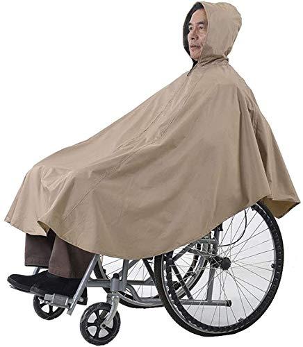 Manta de silla de ruedas, capa de silla de ruedas sin mangas totalmente impermeable Poncho de silla de ruedas para silla de ruedas con capucha de silla de ruedas Ultralight Silla de ruedas Cubierta de