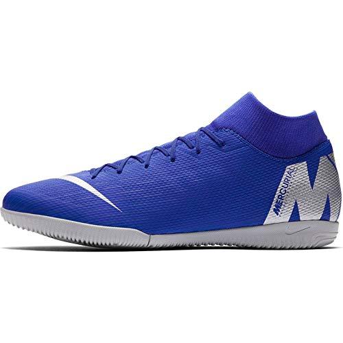 Nike, Scarpe da Calcio Unisex-Adulto, Blu, 44.5 EU