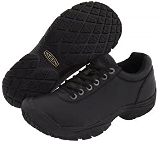 Keen Utility(キーン) メンズ 男性用 シューズ 靴 オックスフォード 紳士靴 通勤靴 PTC Dress Oxford - Black [並行輸入品]