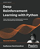 Deep Reinforcement Learning with Python, 2nd Edition Front Cover