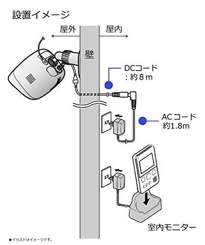 Panasonic(パナソニック)『モニター付き屋外カメラ(VS-HC105-W)』