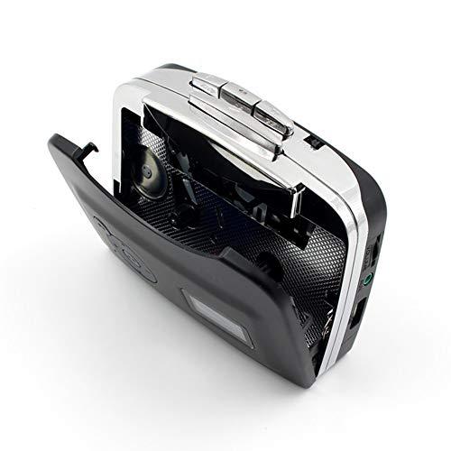WNTHBJ Convertidor de MP3 CD, una Cinta de Casete USB del PC, Captura Digital de Audio Reproductor de música