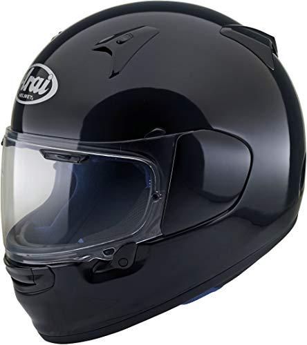 Arai Profile V Solid Schwarz Glanzend Vollgesichts-Motorradhelm Grose XS