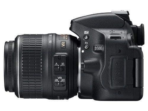 Nikon D5100 + Obiettivo AF-S VR Dx 18-55 Mm