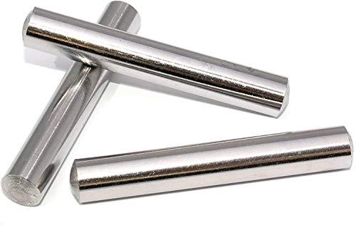 10 Stück Zylinderstifte 10x16 DIN 7 Edelstahl V1A Zylinderstift Paßstifte Toleranz M6