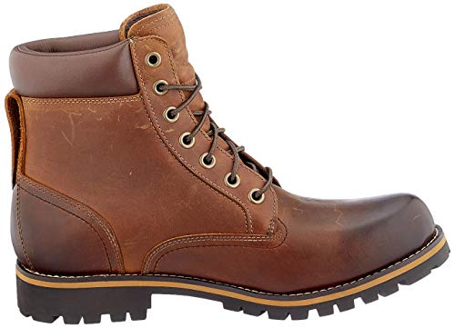 Timberland Men's Earthkeepers Rugged Boot, Red Brown, 10.5 M US