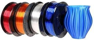 XYZprinting PETG Refill Filament - Clear Tangerine (NFC Style for da Vinci Nano, da Vinci Mini, da Vinci Jr, da Vinci Super Series)