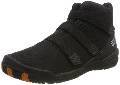 Jack Wolfskin Jungen Unisex Kinder Jungle Gym 2 Texapore VC MID K Hohe Sneaker, Schwarz (Black/Espresso 6067), 28 EU