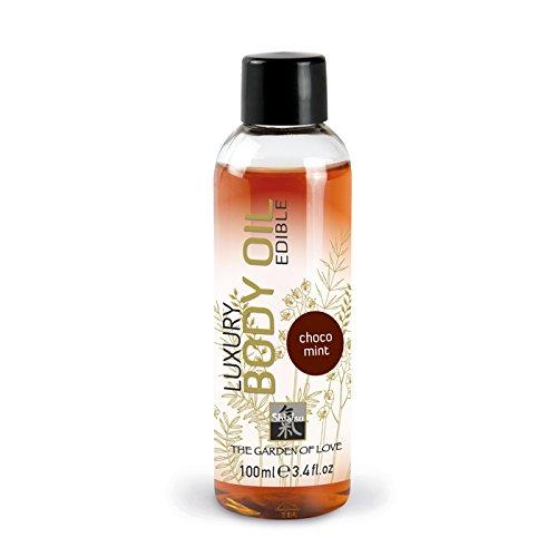 SHIATSU Edible Luxury Body Oil - Chocholate Mint, 100 ml