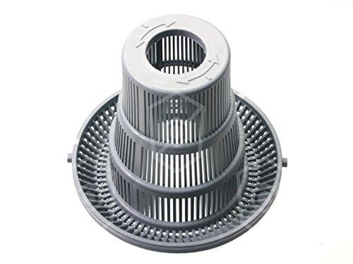 Fagor Filtro redondo para lavavajillas LVC-21W, LVC-15D, LVC-21B, LVC-21D, diámetro de 143 mm, altura de 125 mm, orificio de 35 mm