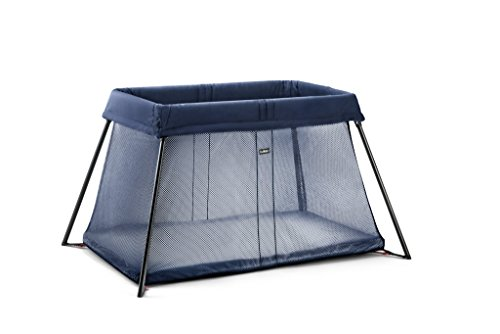 BabyBjörn Travel Cot Light, Dark Blue