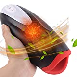 Male Masturbators Pusseyfoot Warmer with 10 Speeds Silent Vibrating Modes Masturbation Toys Smart Man Sec Sleeve Stroker Clear Masterbutịon Sixy Toys for Men Deluxe Cup Aircraft Cup Underwear