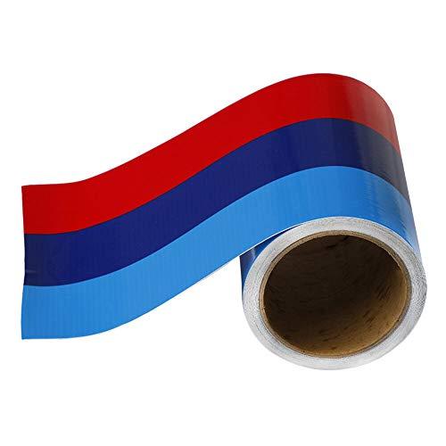 SALAMOPH M-farbige streifen aufkleber auto vinyl aufkleber für m3 m4 m5 m6 3 5 6 7 serie