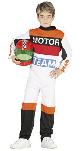 Guirca- Disfraz 7-9 años Piloto de motos, u (87501.0)