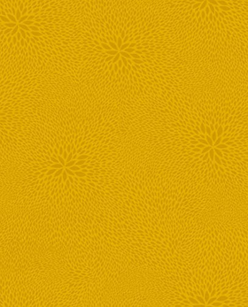 Decopatch Paper No. 651 Pack of 20 Sheets (395 x 298 mm, Ideal for Your papermaches) Dark Blue, Leaf Mosaic Yellow