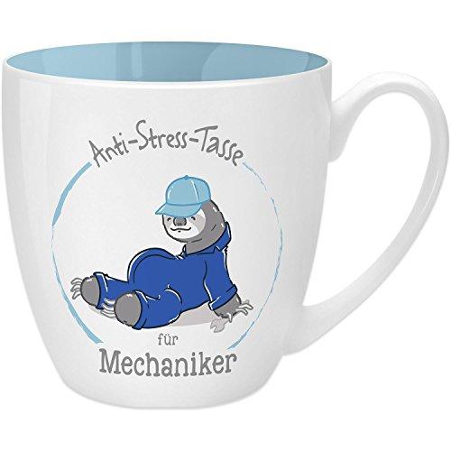 Bastler Geschenk für Auto-Schrauber lustige Werkstatt-Tasse